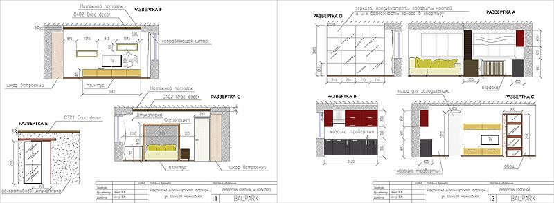 дизайн интерьера холла квартиры