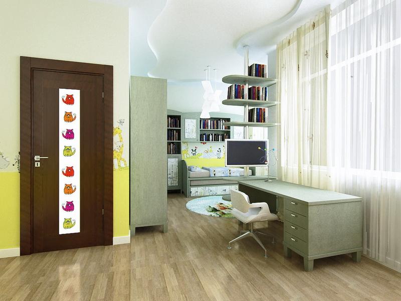 дизайн детской комнаты таунхаус Дубровка