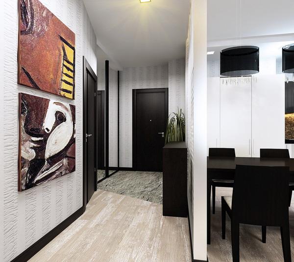 интерьер гостиной 5